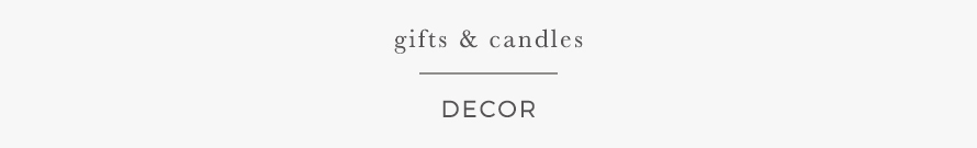 GIFTS & CANDLES