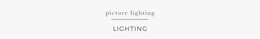 picture lighting