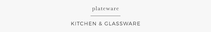 plateware